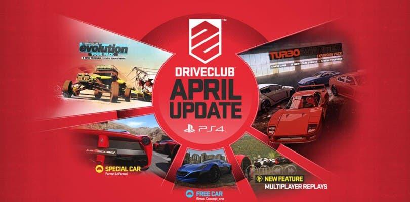Mañana llega la actualización 1.14 a Driveclub con gran cantidad de mejoras
