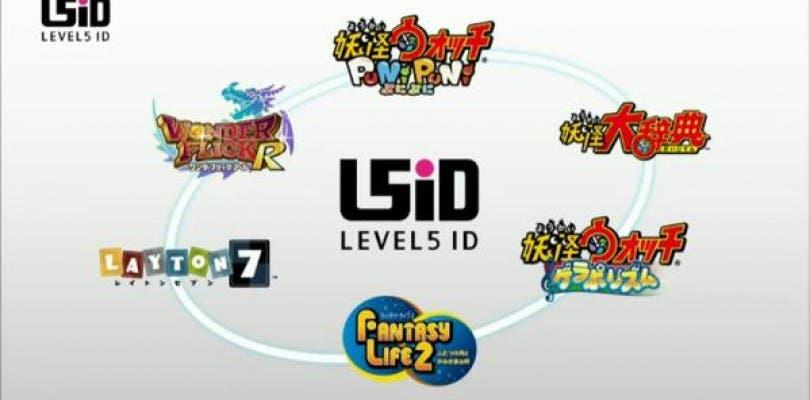Level-5 anuncia tres juegos de Yo-Kai Watch para móviles