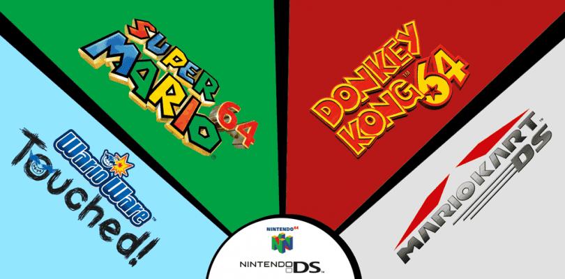 Nuevos títulos y ofertas de la Consola Virtual de Wii U