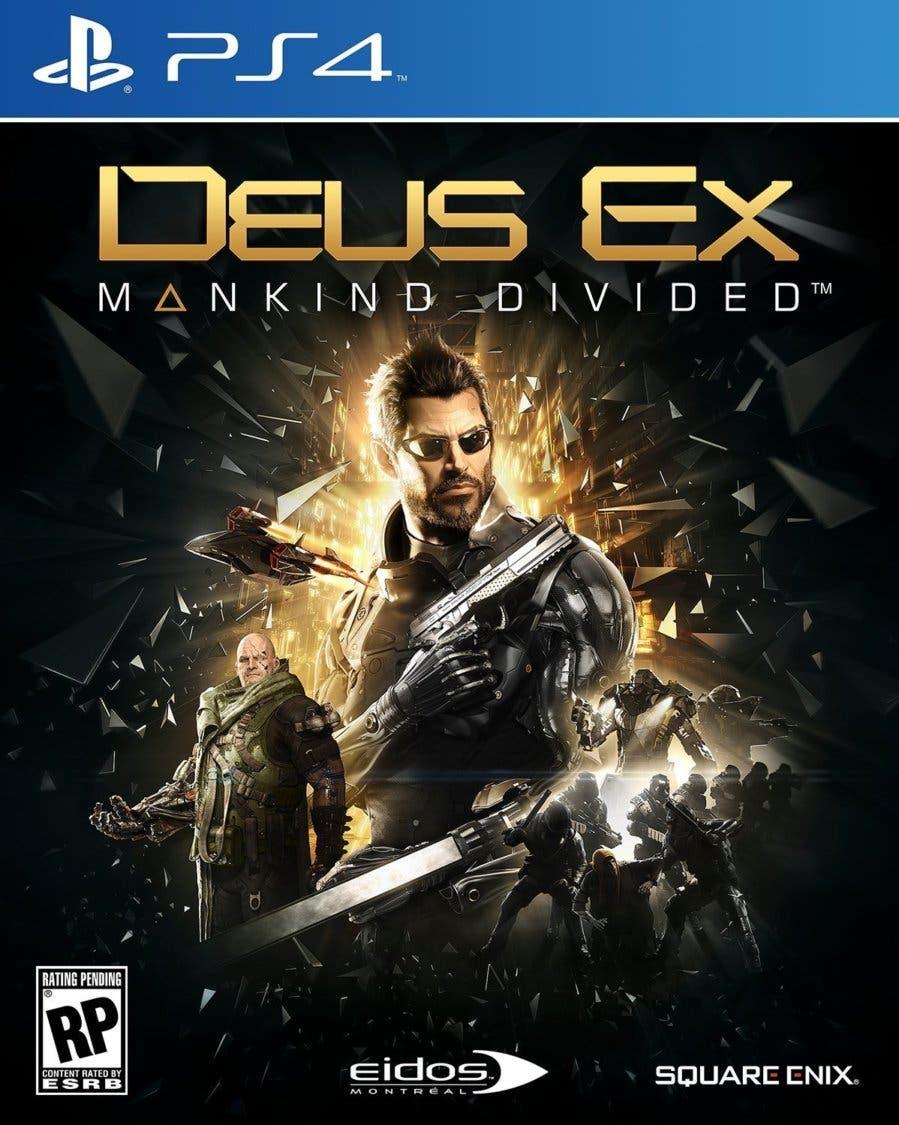Se Muestran Las Caratulas Para Deus Ex Mankind Divided