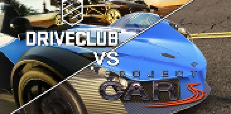 Driveclub VS Project CARS el duelo está servido
