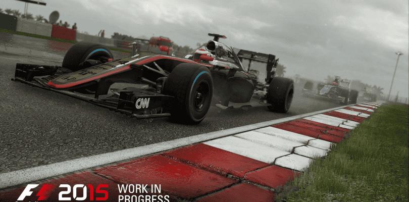 F1 2015 tendrá mayor resolución en PlayStation 4 que en Xbox One