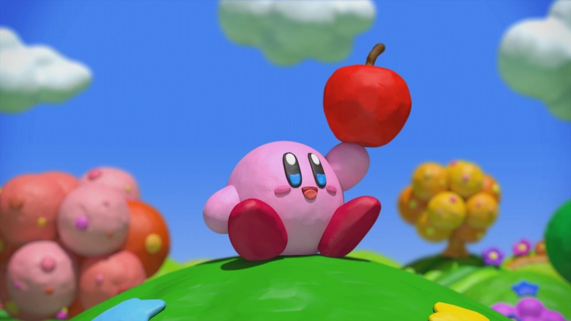 Kirby el pincel de arcoiris