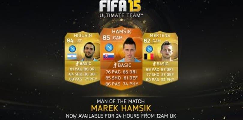 Marek Hamsik, nuevo MOTM para FIFA 15 Ultimate Team