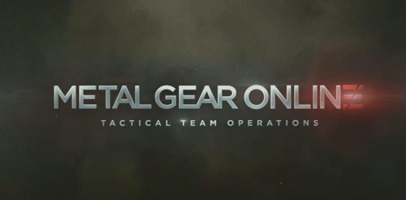 Novedades acerca de Metal Gear Online