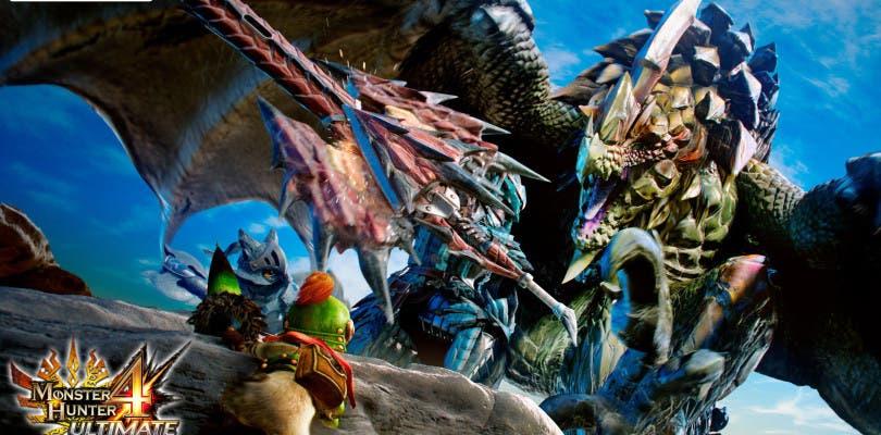 Capcom muestra en vídeo el tema para Nintendo 3DS de Monster Hunter 4 Ultimate