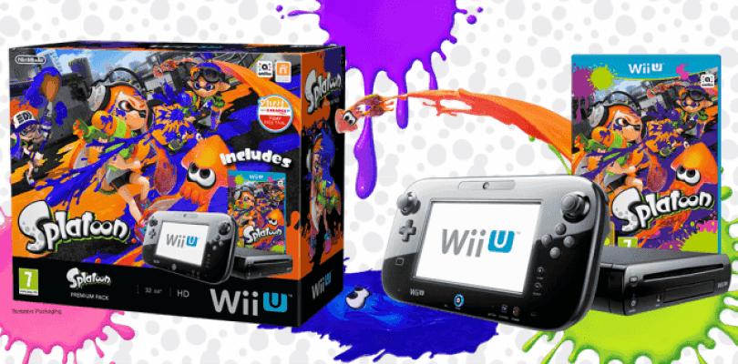 Nintendo anuncia un pack de Splatoon con Wii U