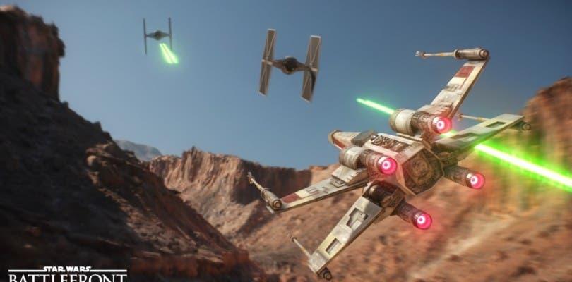 """Star Wars Battlefront – Teaser del nuevo modo de juego """"escuadrón de cazas"""""""