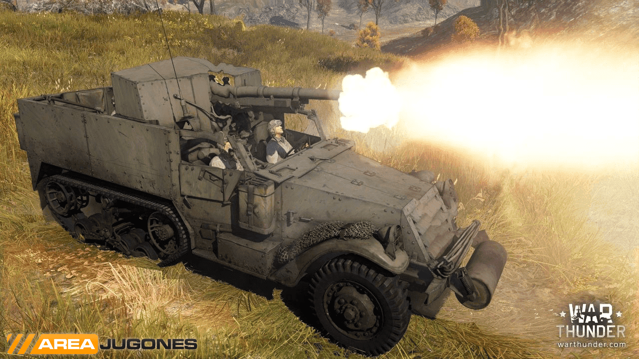 WarThunder Diamond TAutocar M3 75mm GMC