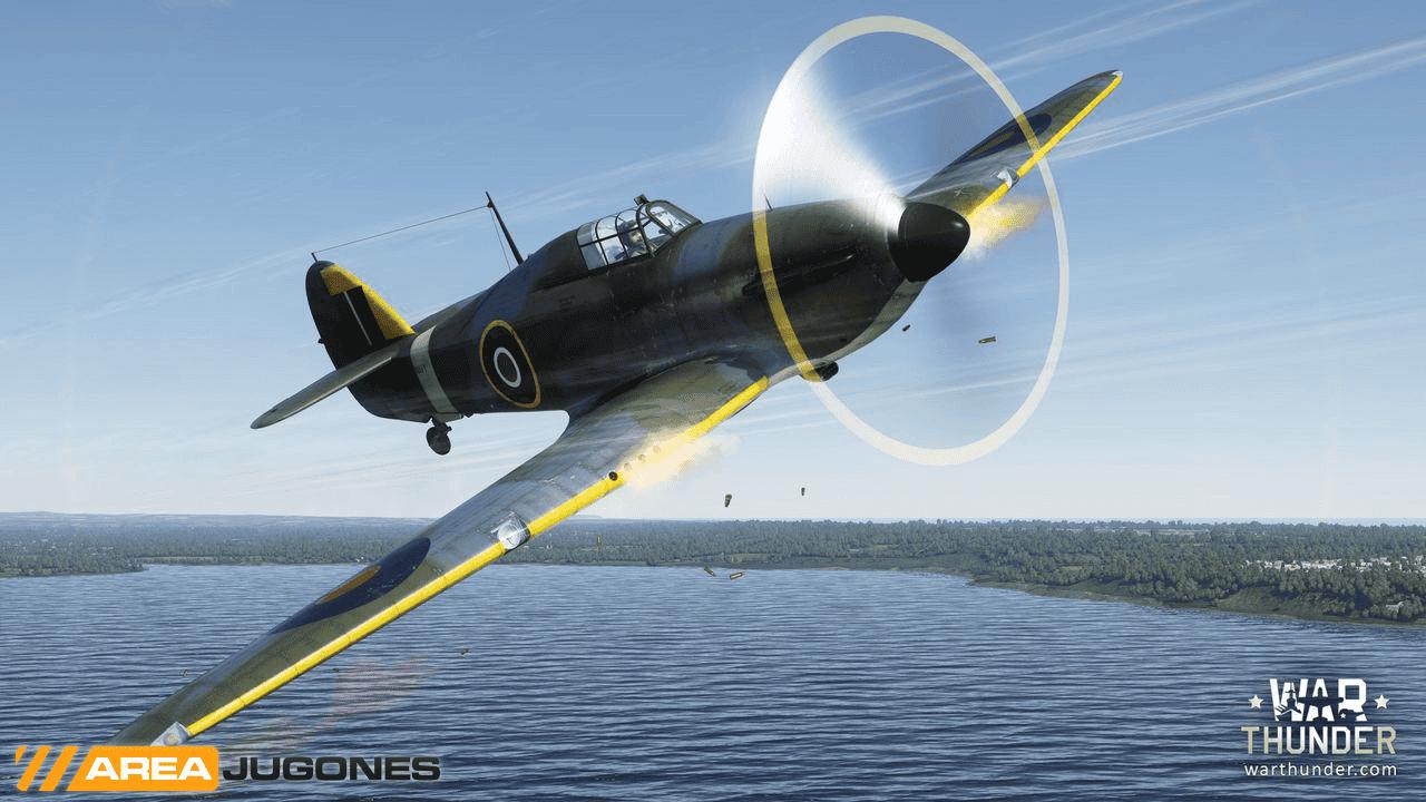 WarThunder Hawker Sea Hurricane Mk IB