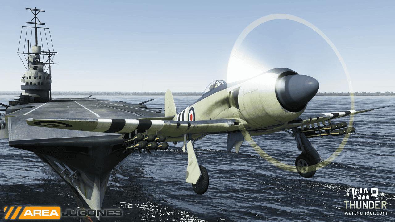 WarThunder Sea Fury FB 11