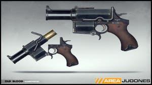 Wolfenstein pistola explosiva