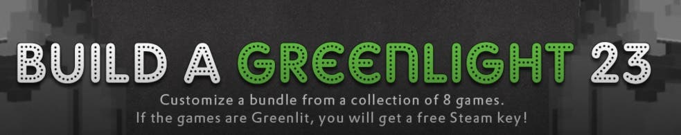 build a greenlight 23 groupees