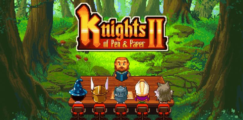 Nuevo tráiler de Knights of Pen & Paper 2