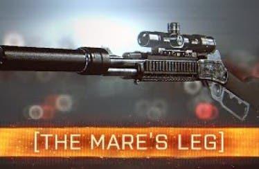 Así luce el nuevo rifle Mare's Leg de Battlefield 4