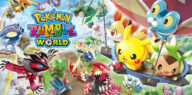 Consigue a Torchic en Pokémon Rumble World
