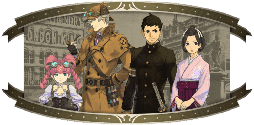 Más detalles sobre The Great Ace Attorney