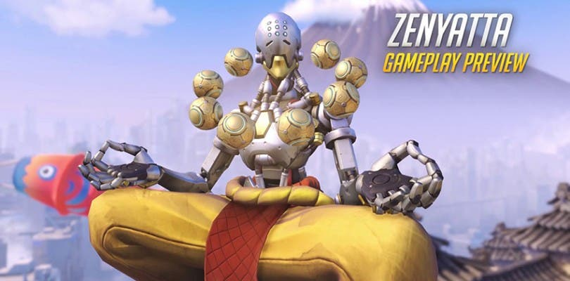 Nuevo tráiler de Overwatch mostrando a Zenyatta en acción