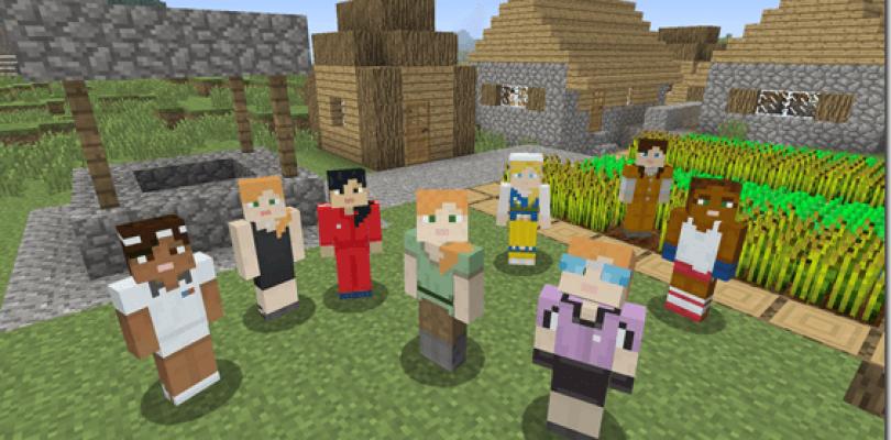 Minecraft ya cuenta con personajes femeninos por defecto