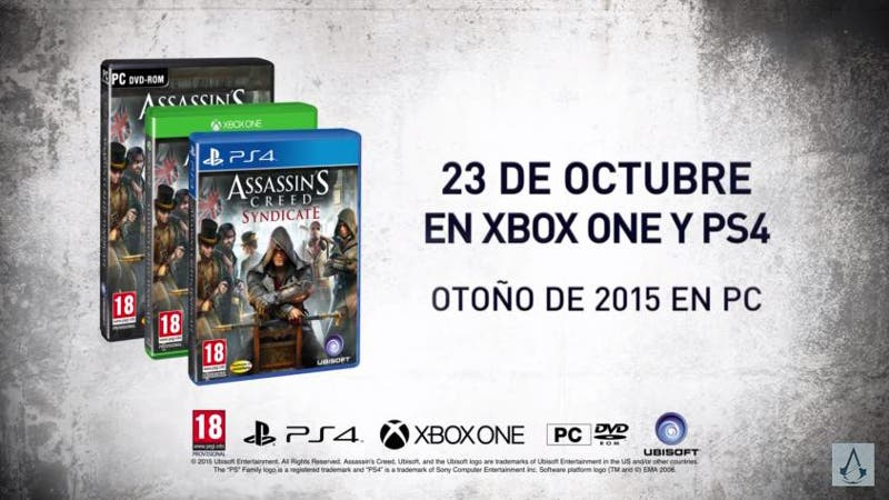 Assassins creed syndicate lanzamiento