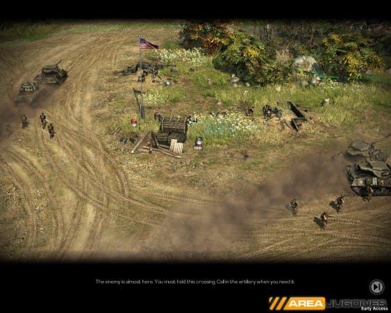 En las misiones individuales se juega en los 3 bandos disponibles.