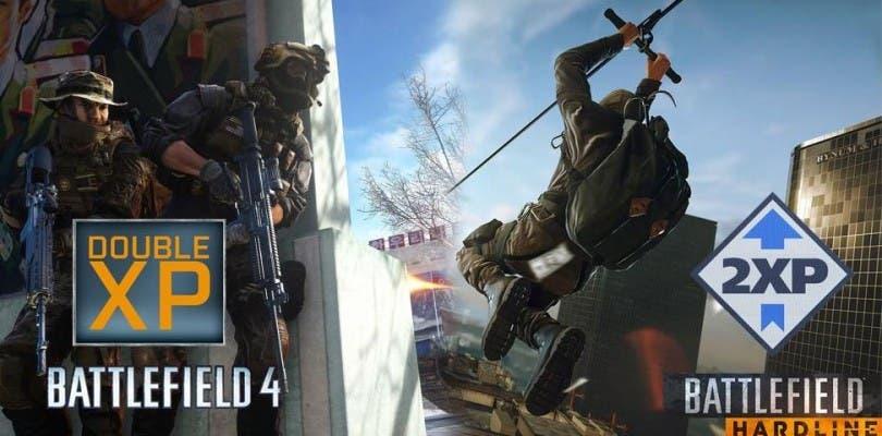 Siete días de doble XP en Battlefield 4 y Battlefield Hardline