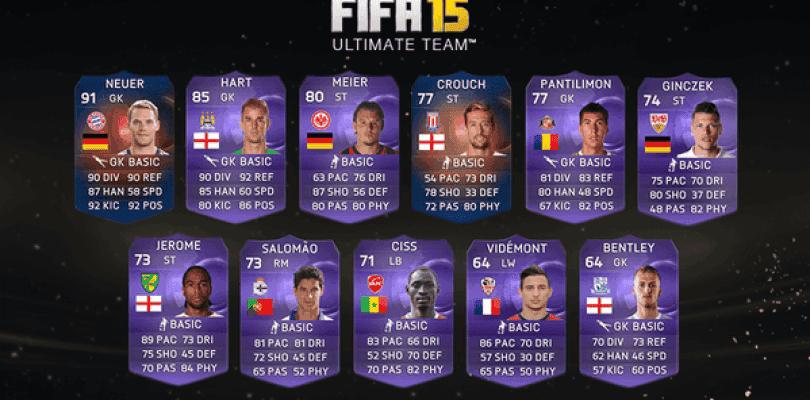 Neuer, Crouch y Hart son los nuevos Record Breaker y Héroes disponibles en FIFA 15 Ultimate Team