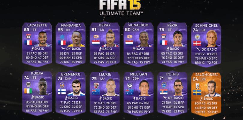 Llegan las cartas HEROES a FIFA 15 Ultimate Team