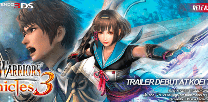 Se confirma el lanzamiento de Samurai Warriors Chronicles 3