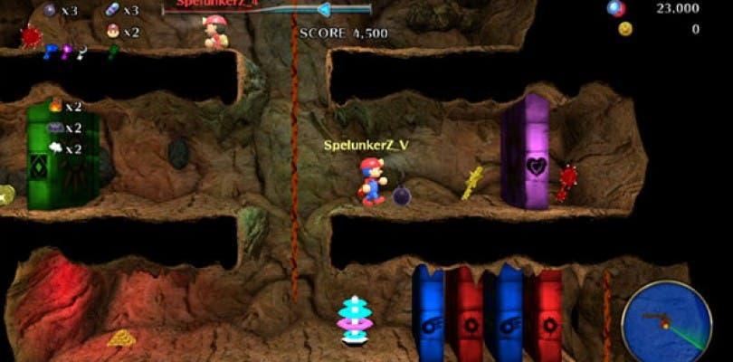 Spelunker Z llegará a PlayStation Vita