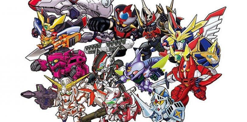 Imágenes y Video debut de Super Robot Wars BX