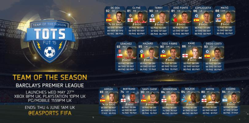 Estos son los TOTS de la Barclays Premier League para FIFA 15 Ultimate Team