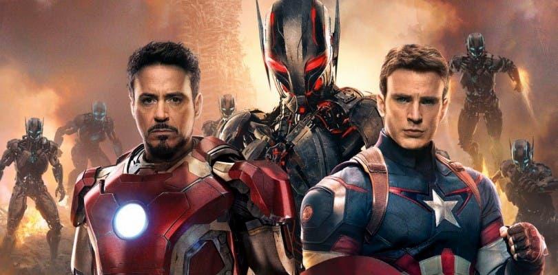Se muestra el arte conceptual de Scarlet Witch y Ultron para Avengers: Age of Ultron