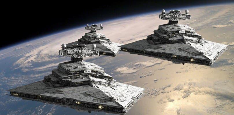 Una captura de Star Wars: Battlefront muestra la diferencia entre la primera y tercera persona