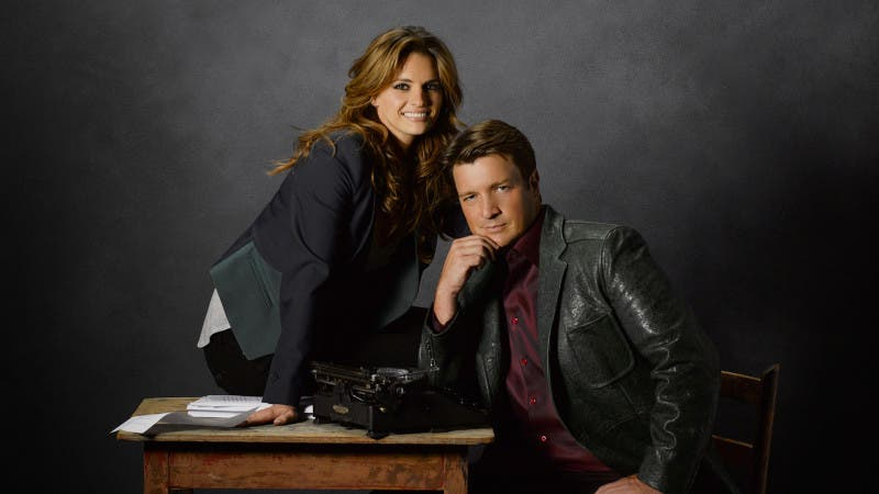 """CASTLE - ABC's """"Castle"""" stars Stana Katic as NYPD Detective Kate Beckett and Nathan Fillion as Rick Castle. (ABC/BOB D'AMICO)"""