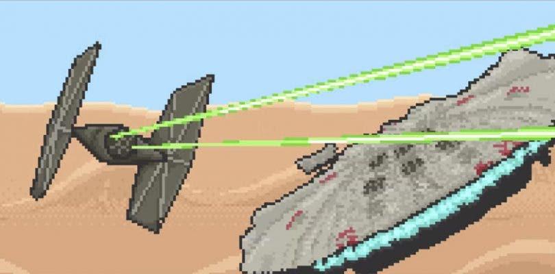 Versión 16-bit de Star Wars: El Despertar de la Fuerza