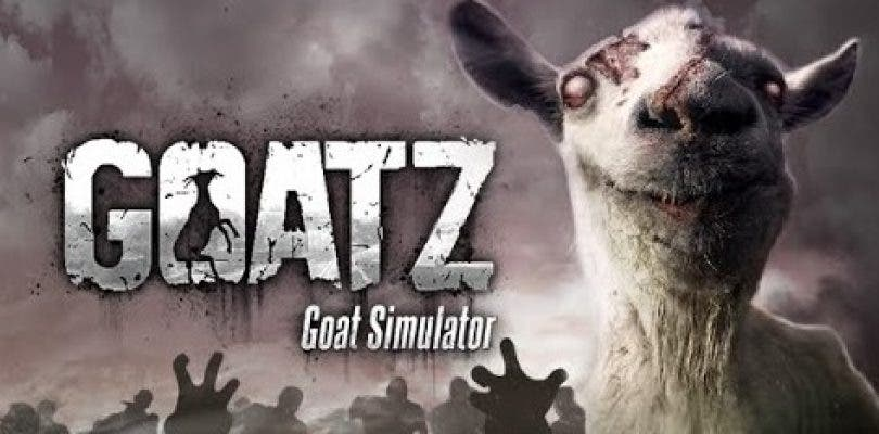 GoatZ será el próximo DLC de Goat Simulator