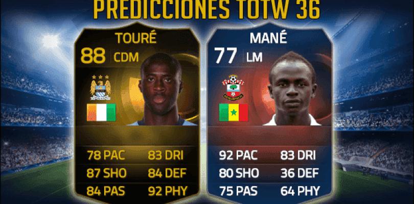Predicciones TOTW 36 FIFA 15 Ultimate Team