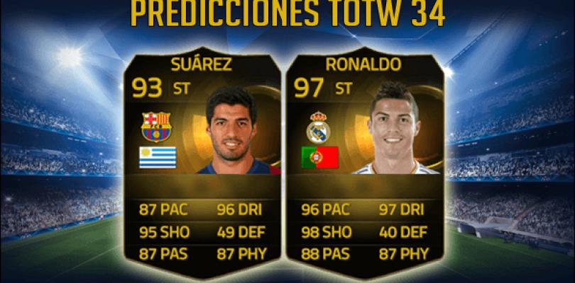 Predicciones TOTW 34 Ultimate Team