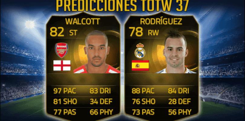 Predicciones TOTW 37 FIFA 15 Ultimate Team