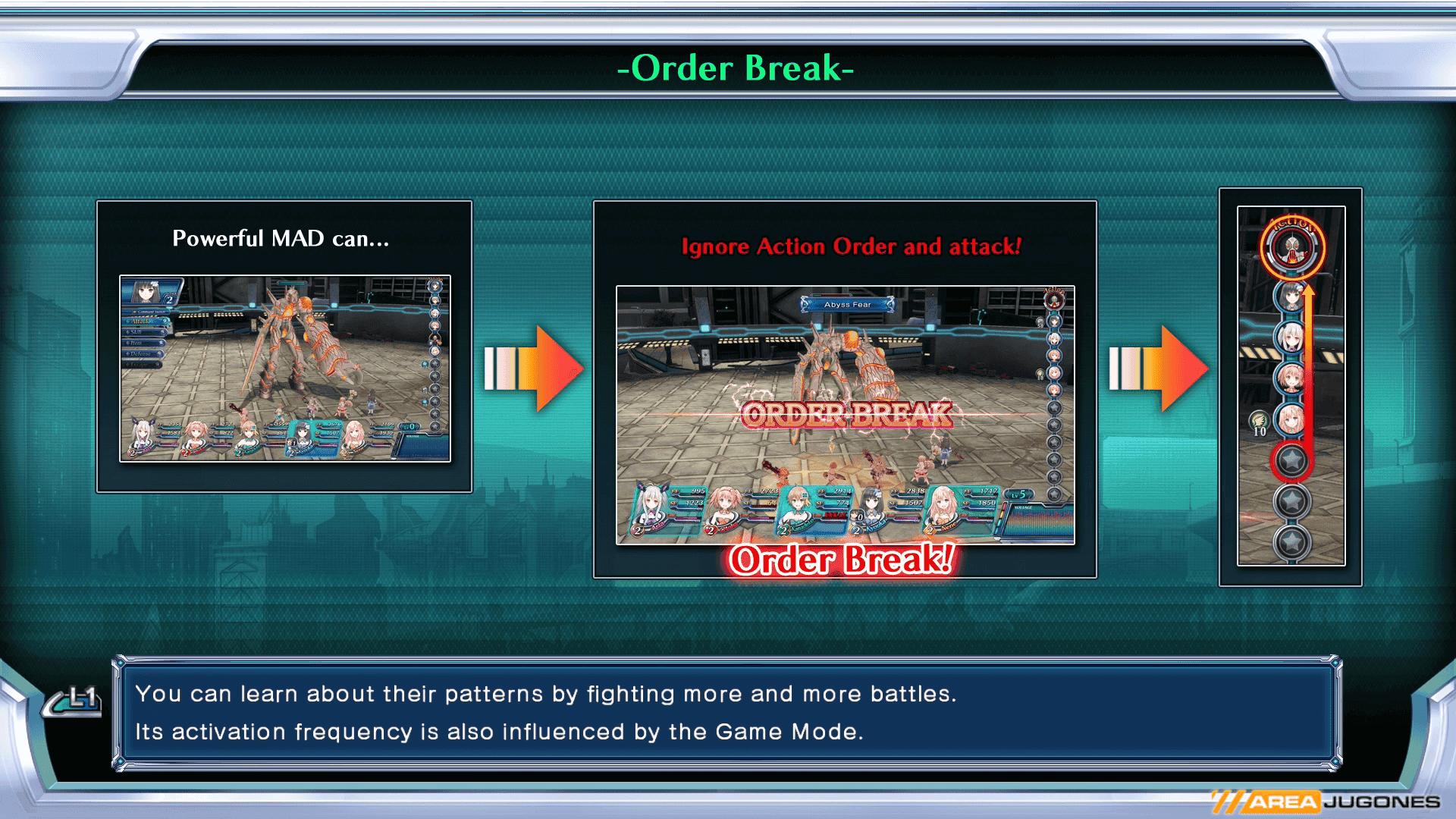 order break