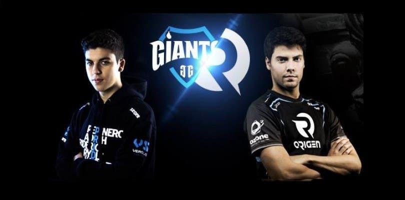 Sigue con nosotros el duelo español entre Giants y Origen
