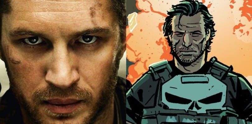 Tom Hardy quiere ser Punisher o estar en una película de Splinter Cell y explica por qué dejó Suicide Squad