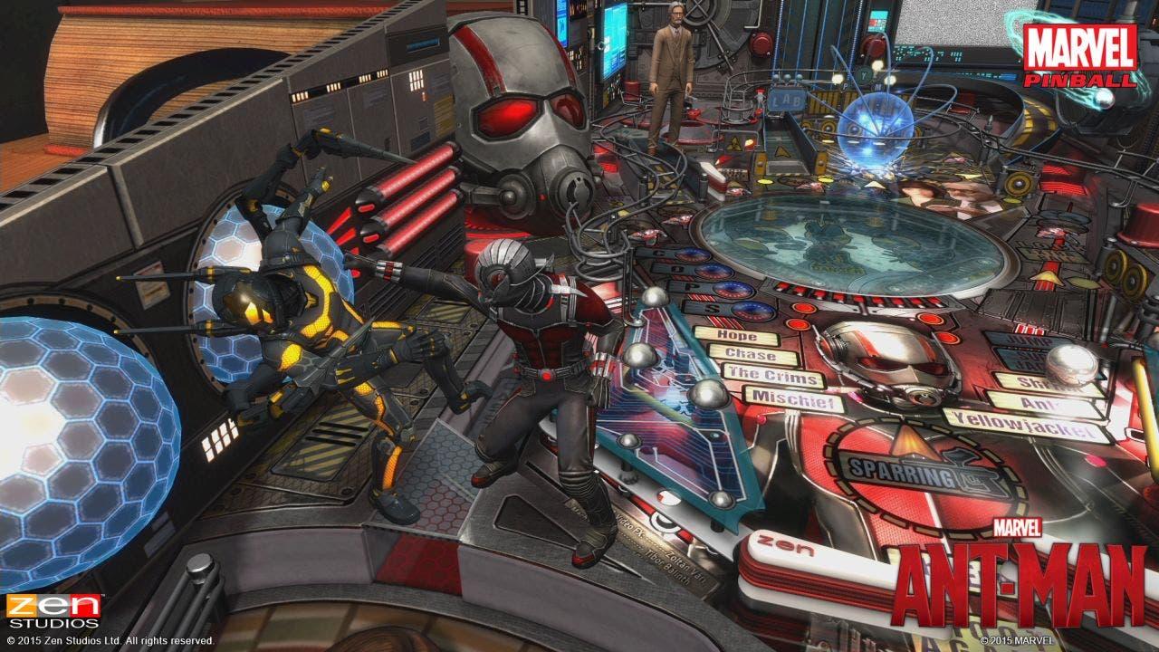 Ant-Man tendrá su propio pinball como DLC en los juegos de