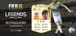 Butragueño, nueva leyenda disponible en FIFA 15 Ultimate Team