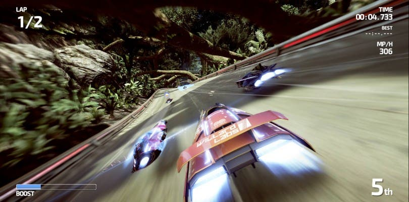 Nuevo gameplay de FAST Racing Neo