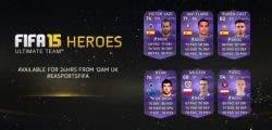Seis nuevos Héroes llegan a FIFA 15 Ultimate Team