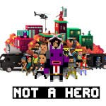 Not a hero, ya disponible en PlayStation 4