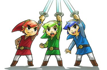 Nintendo muestra un nuevo tráiler de The Legend of Zelda: Tri Force Heroes