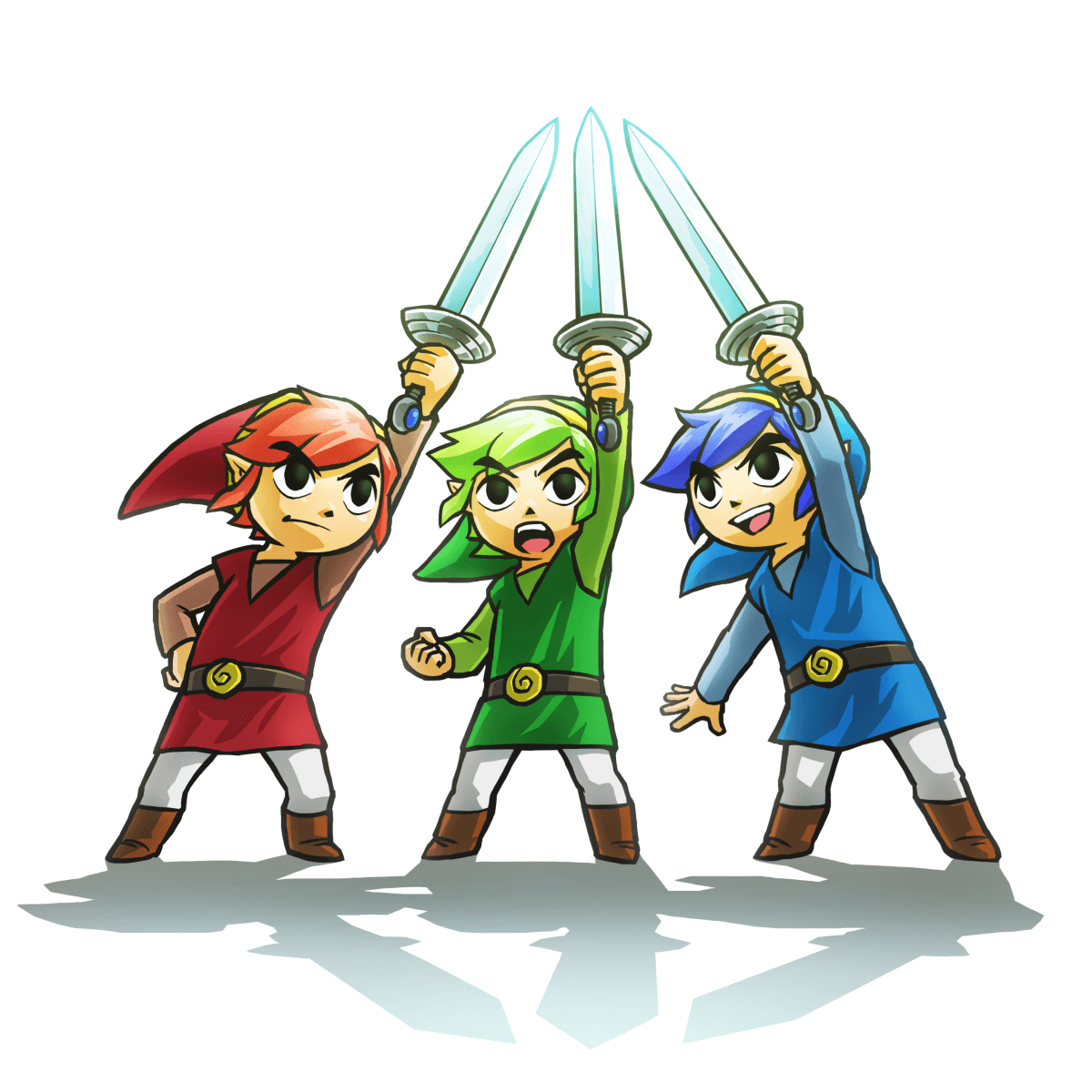 The Legend of ZeldaTri Force Heroes 2